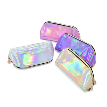 Holographic Laser Small CosmeticTravel Makeup Wallet Bags