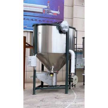 Stainless Steel With Heating Device Plastic Mixer Blending