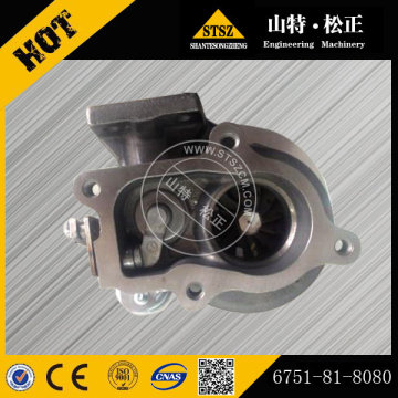 6751-81-8080 4D107 turbocharger for PC200-8EO excavator