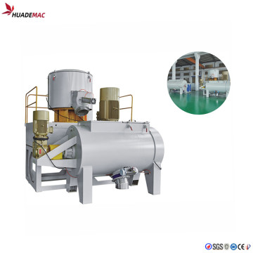 Horizontal type  PVC high speed mixer
