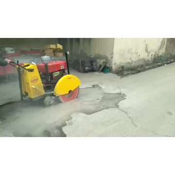 Gasoline/diesel  concrete road  cutting machine