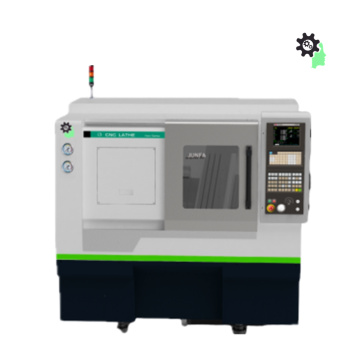 High Precision CNC Lathe with Slant Bed
