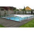 Aluminium Enclosures House Glass Swimming Pool Cover