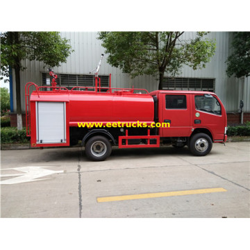 500 Gallon 4x2 Emergency Fire Fighting Trucks