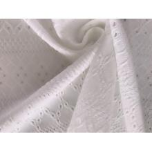 Eyelet Fabric with Polyester Spandex