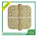 SZD SAH-048BR Promotional price brass door hinge with round corner and cheap price