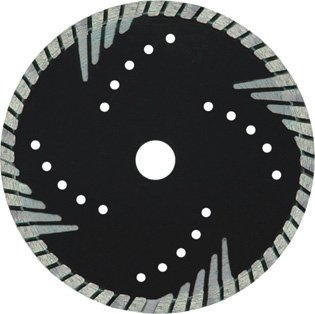 Sintered hot-pressed segmented bevel blade