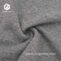 TC Light Grey Melange Velvet Feel Fabric