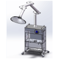 Low noise Hair salon beauty fume extractor