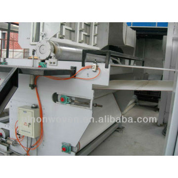 Latest automatic line ---1.6mS/SS PP non woven fabric production line