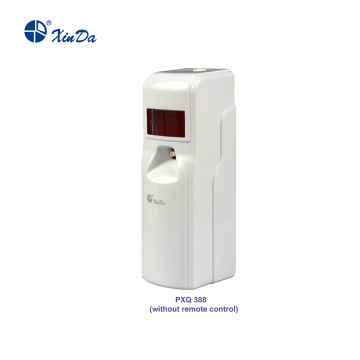 White remote control Perfume Dispenser with display