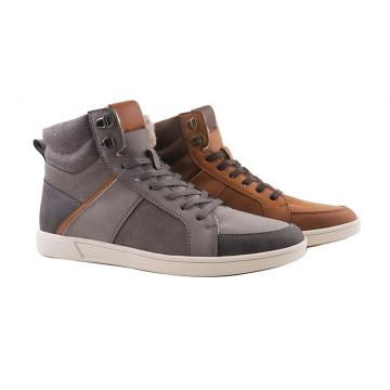 High top fashionable board shoes for men
