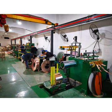 Original precision metal slitting machine