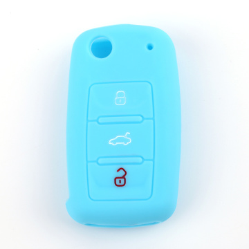 Hot Exported Silicone Car Key Shell For Skoda