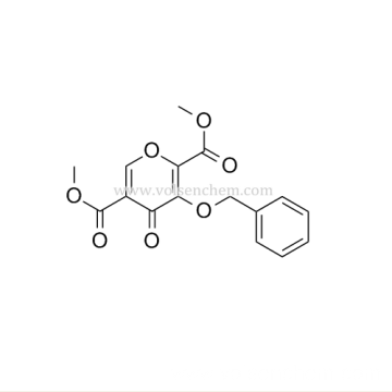 CAS 1246616-66-9, 4-Oxo-3-(phenylmethoxy)-4H-pyran-2,5-dicarboxylic acid 2,5-dimethyl ester For Dolutegravir Intermediates