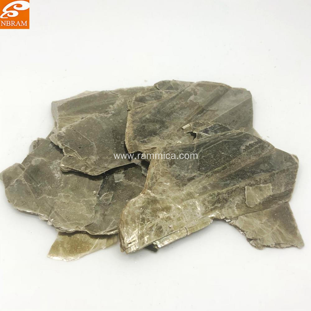 natural gold mica scrap