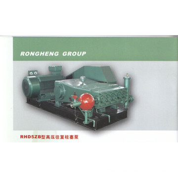 Single cylinder horizontal plunger pump