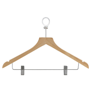 Wooden Pants Hanger and Coat Hanger