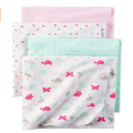 Printed Baby Flannel Receiving Blankets