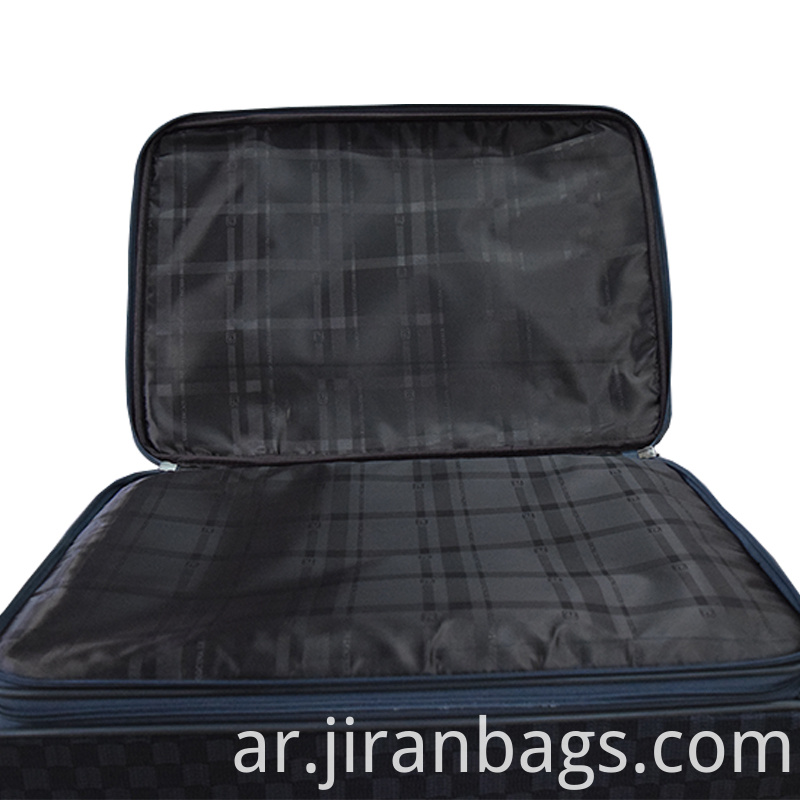 Side zipper trolley case