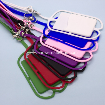 Custom Silicone Rubber Card Holder Wallet