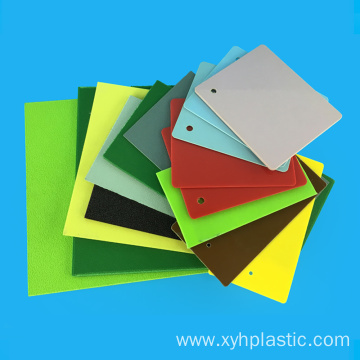 Smooth Plastic 3mm ABS Plate