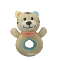 Plush Tiger Soft Rattle