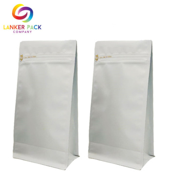 High Quality Custom Liminate White Kraft Paper Bag
