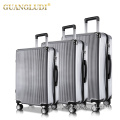 Wholesase 3 pieces carry on trolley suitcase