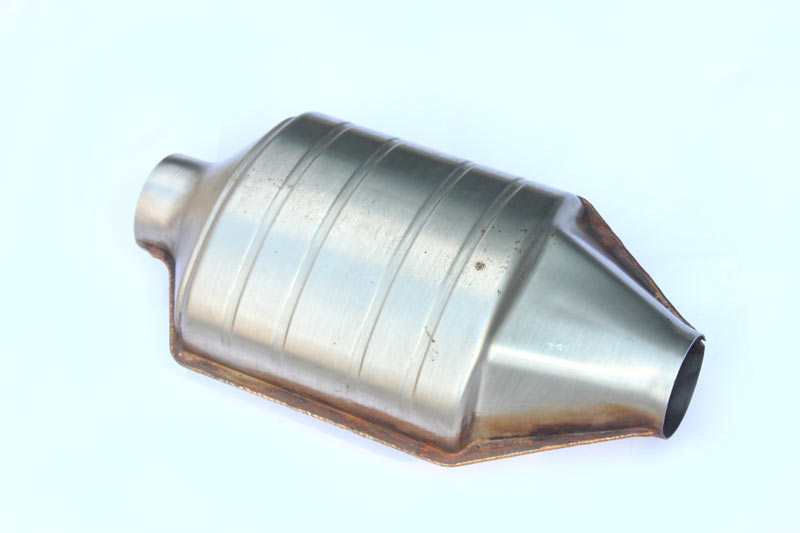 Oval Shape Ceramic Hi-Flow Performance Catalytic Converter