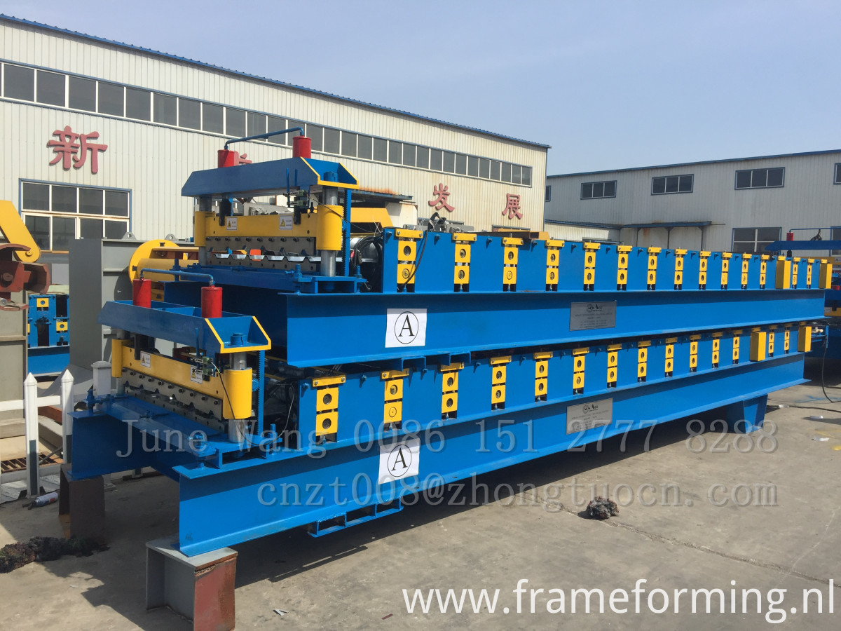 roof and wall panel machine