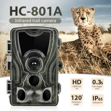 HC 801A Hunting Cameras 0.3s Trigger Time infrared Night Version Trail Camera Photo Traps 16MP 1080P IP65 Wildlife Camera Cams