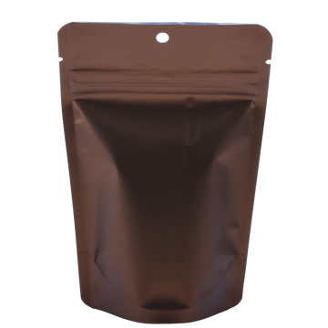Copper Colour Plastic Stand Up Pouch