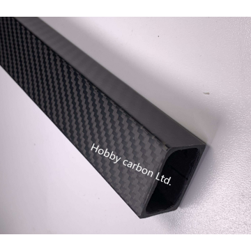 High strength 3k carbon fiber square tube