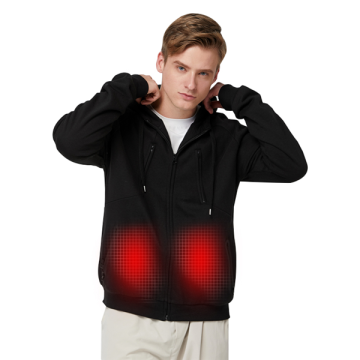New Warm USB Heated Battery Powered Mens Sweater
