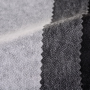 Double Dot Non Woven Fusible Interlining Fabric