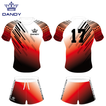 100% polyester breathable rugby jersey