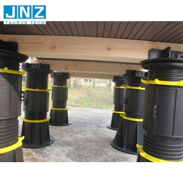 Heavy loading Plastic Adjustable Raised Floor Pedestals