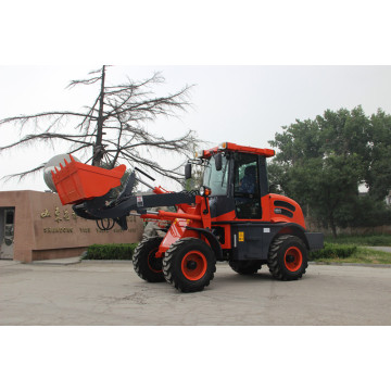 mini wheel loader OCL15 with 1.5tons capacity