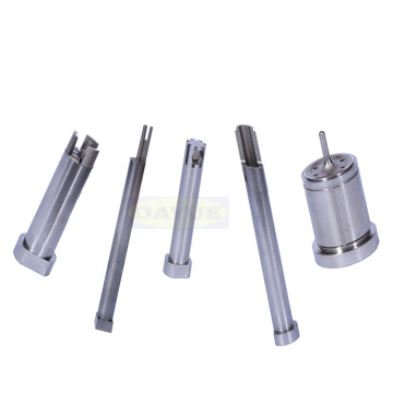 Customized connector mold insert polishing components