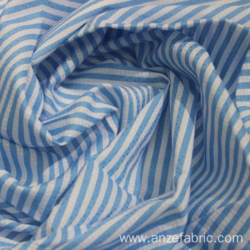 Printed 100% Cotton Yarn Dyed Dobby Shirt Fabric