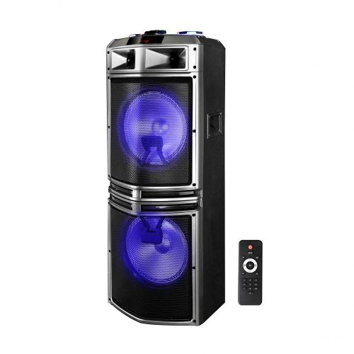 Bluetooth party speaker with 2 Wireless mic