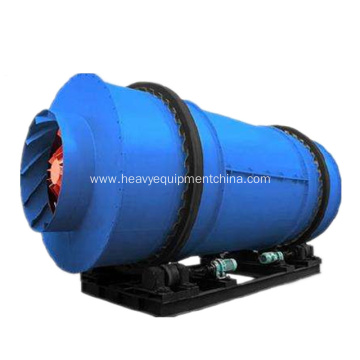3 Pass Rotary Drum Dryer For Sand Sawdust