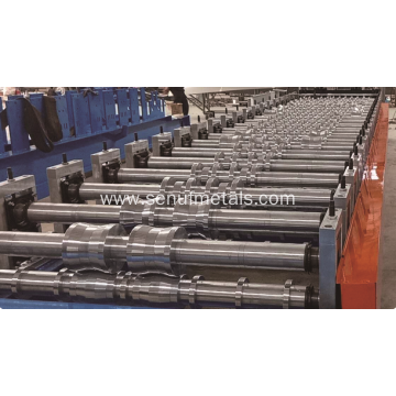 Automatic high speed roof sheet roll forming machine