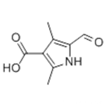 5-Formyl-2,4-dimethyl-1H-pyrrole-3-carboxylic acid CAS 253870-02-9