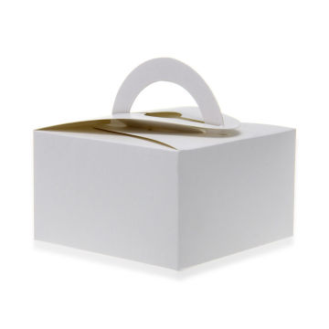White Cake Box for Bakery