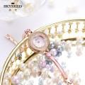 SKYSEED Trendy diamond watch waterproof lady watch