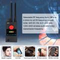 Dual Antenna G528 Anti Candid Camera Detector RF Signal Secret GPS GSM Mobile Phone Wifi Pinhole Cam Spy Bug Finder
