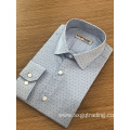 Latest Design Men′s Fashion print long sleeve Shirt