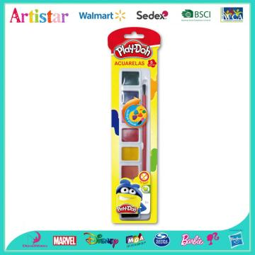Play-Doh painting acuarelas set